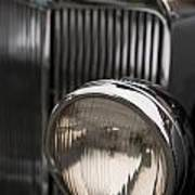 Triumph Roadster One Headlight Poster