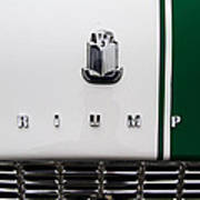 Triumph Tr 3 Name Badge Poster