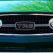 Triumph Tr 6 Grille Emblem Poster