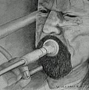 Trombone-the Trombonist Poster