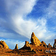 Trona Pinnacles California Poster by Bob Christopher