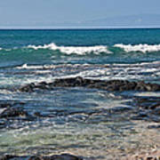 Tropical Beach Seascape Art Prints Poster