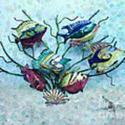 Tropical Fish 4 Poster