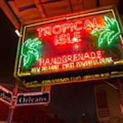 Tropical Isle Nola Style Poster