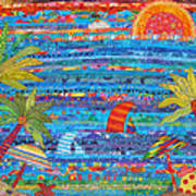 Tropical Moments Poster by Susan Rienzo