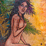 Tropical Nude Poster