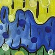 Tropical Rain Poster