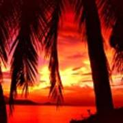 Tropical Sunset - Thailand Poster