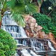 Tropical Waterfall 1 Poster