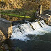 Trout Run Creek Dam 1 Poster