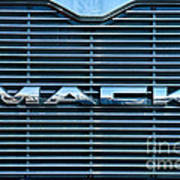 Truck - The Mack Grill Poster