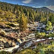 Truckee River  Poster
