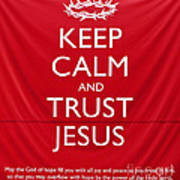 Trust Jesus 01 Poster by Rick Piper Photography