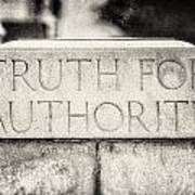 Truth For Authority Lucretia Mott  Poster