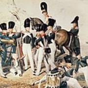Tsarevich Alexander 1818-81 With His Cadets At Peterhof, C.1823 Wc On Paper Poster