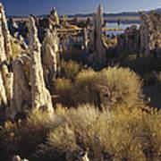 Ttufa Formations Mono Lake California Poster