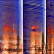 Tubular Sunset Poster