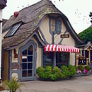 Tuck Box Tearoom - Carmel California Poster