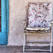 Tucson Front Porch Painterly Effect Poster