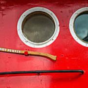 Tug Boat Eyes Poster