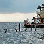Tug Boat On Lake Pontchartrain Poster
