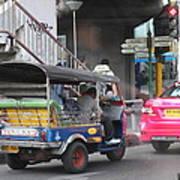 Tuk Tuk - City Life - Bangkok Thailand - 01131 Poster by DC Photographer