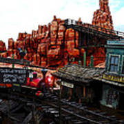Tumbleweed Town Magic Kingdom Poster