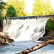 Tumwater Falls Poster
