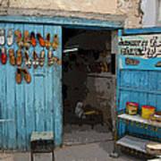 Tunesian Shoemaker Shop Poster