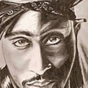 Tupac Poster by Michael Mestas