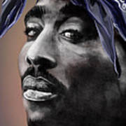 Tupac - The Tip Of The Iceberg  Poster