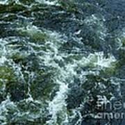 Turbulance At Loch Ness Poster