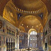 Turkey: Hagia Sopia, 1852 Poster by Granger