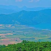 Turkish Farms Along The Aegean Sea Poster