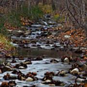 Turner Falls Stream Poster