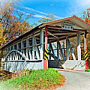 Turner's Covered Bridge Vignette Poster