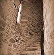 Turret Staircase Poster