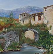 Tuscan Bridge Poster