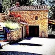 Tuscan Farmhouse Poster