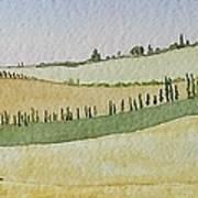 Tuscan Hillside Four Poster
