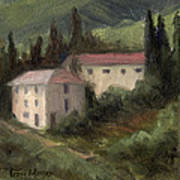 Tuscan Landscape II Poster