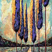 Tuscan Landscape Vertical Poster