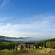 Tuscan Sky Vineyard Poster