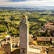 Tuscan Tower Poster