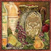 Tuscan Wine-d Poster
