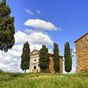 Tuscany - Cappella Di Vitaleta Poster