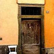 Tuscany Chair With Door Poster