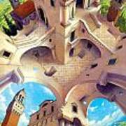 Tuscany I Poster