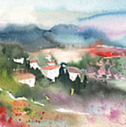 Tuscany Landscape 01 Poster
