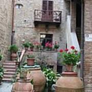 Tuscany Yard Poster
